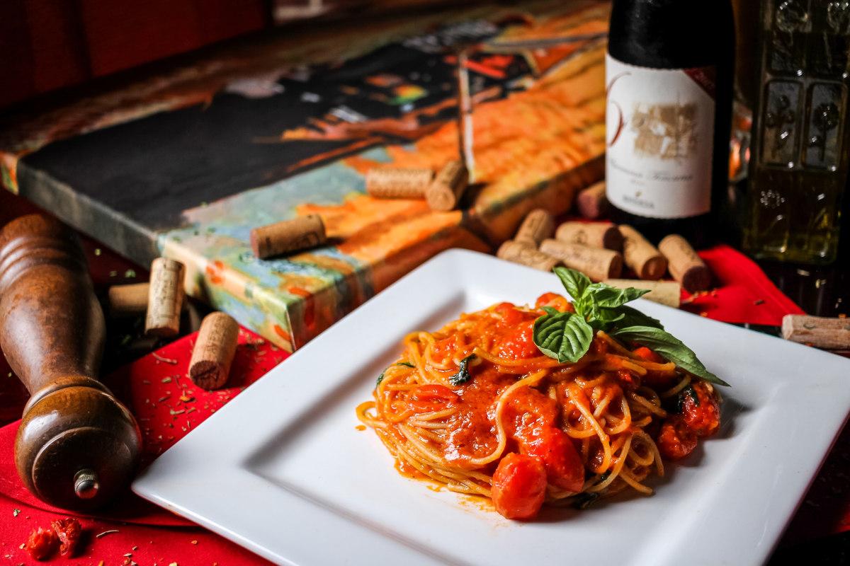 spaghetti alla romana