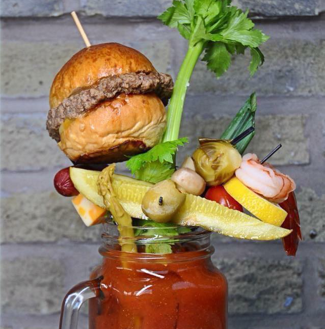 THE CLASSIC bloody mary photo