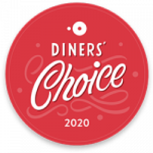 OpenTable diners choice award 2020