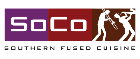 Soco logo scroll
