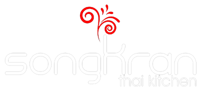 Songkran Thai Kitchen logo scroll