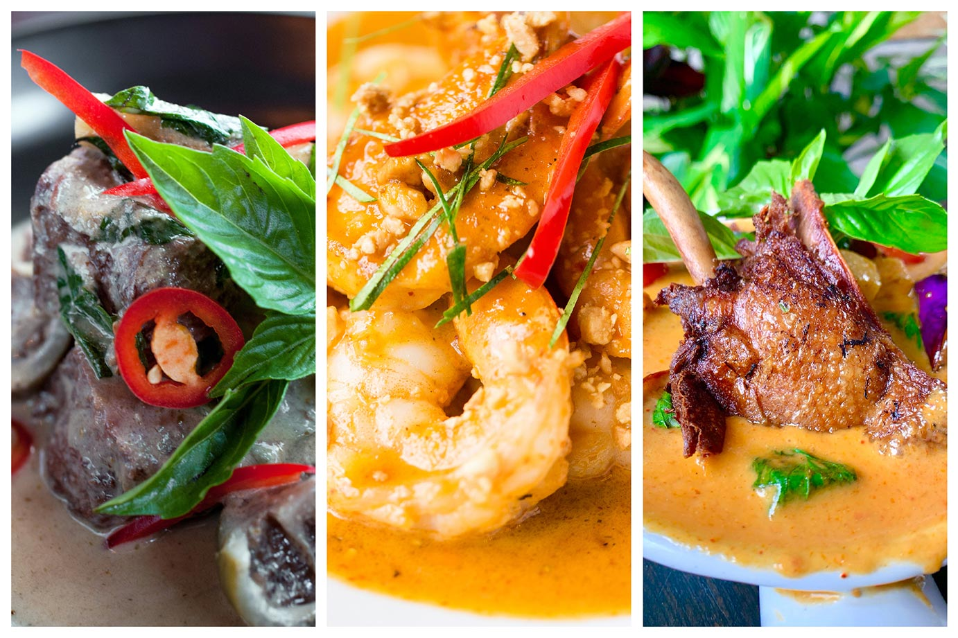 Songkran's 3 signature curries