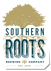 Southern Roots Brewing Co logo scroll
