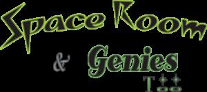 Space Room Lounge & Genie's Too logo top