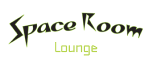 Space Room Lounge logo top