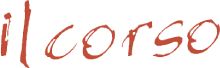 il Corso Palm Springs logo scroll