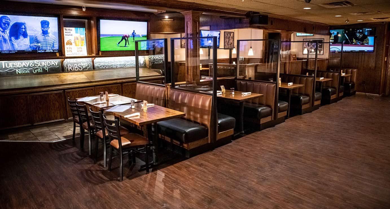 Restaurant interior dining room