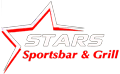 Stars Sports Bar & Grill logo scroll