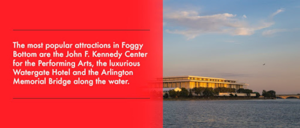 The most popular attractions in Foggy Bottom flyer