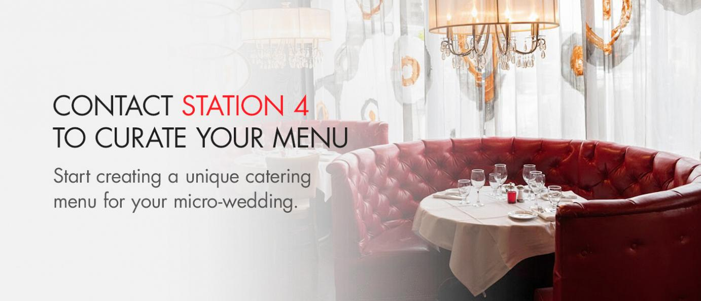 contact station 4 to curate your menu flyer