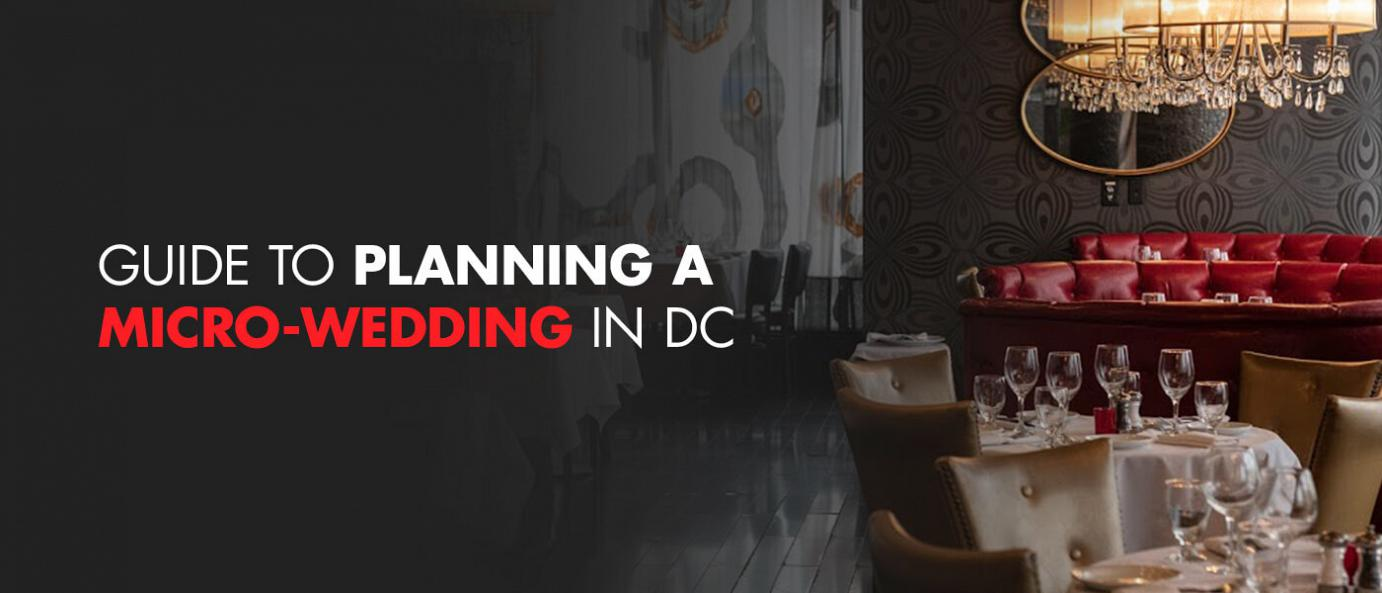 guide to planning a micro wedding in dc flyer