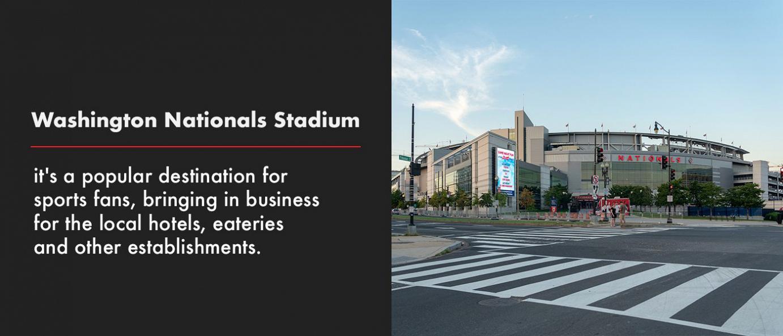 Washington Nationals Stadium flyer