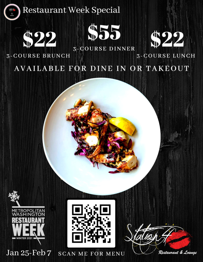 Restaurant Week Special flyer