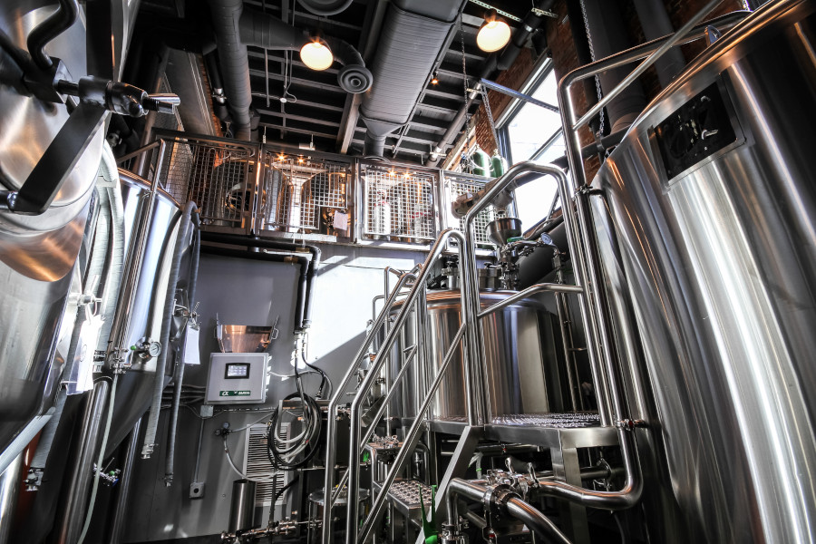 Restaurant machines for making beer