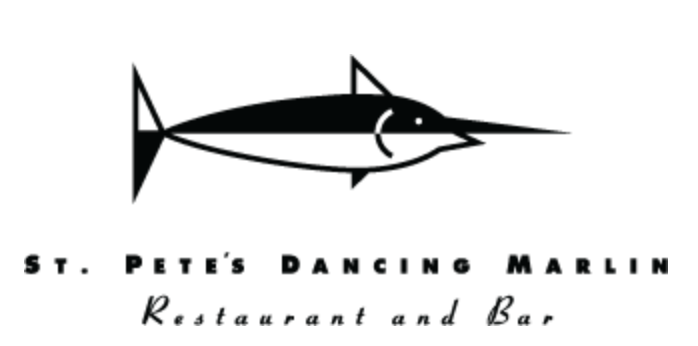 St. Pete's Dancing Marlin logo scroll