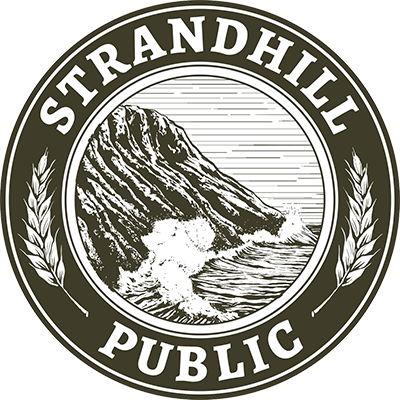 Strandhill Public - Brandon logo scroll
