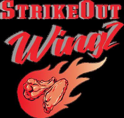 StrikeOut Wingz Ewing logo top