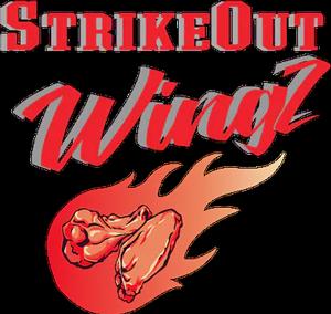 Strike Out Wingz Ewing logo