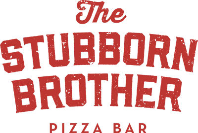 The Stubborn Brother Pizza Bar logo top