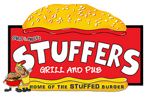 Stuffers Grill and Pub logo top