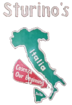 Sturino's logo top