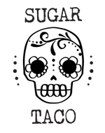 Sugar Taco logo scroll