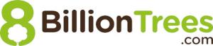 8 bilion trees logo