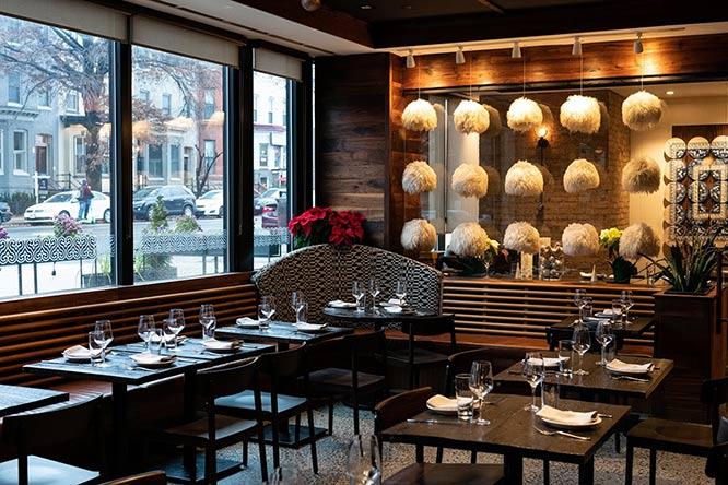 Supra restaurant interior