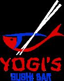 Yogi's Sushi Bar logo top