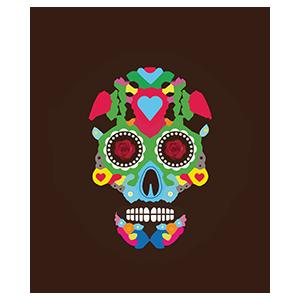 Tacos Del Cartel logo top