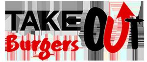 Take Out Burgers logo top