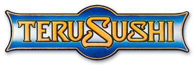 Teru Sushi logo scroll
