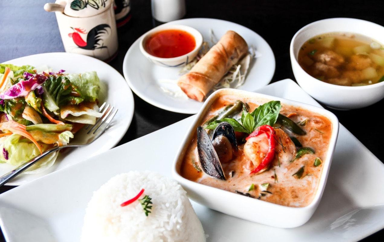 Panang Seafood
