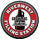 The Riverwest Filling Station logo scroll