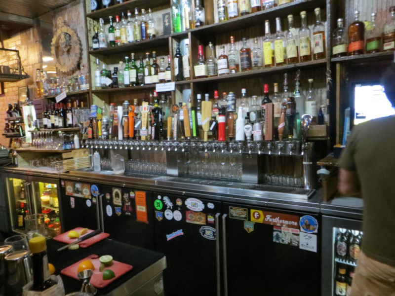 The Riverwest Filling Station taps