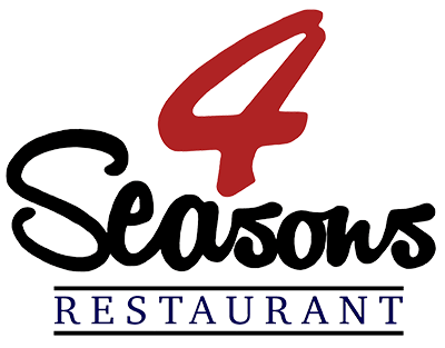 4 Seasons Restaurant logo scroll