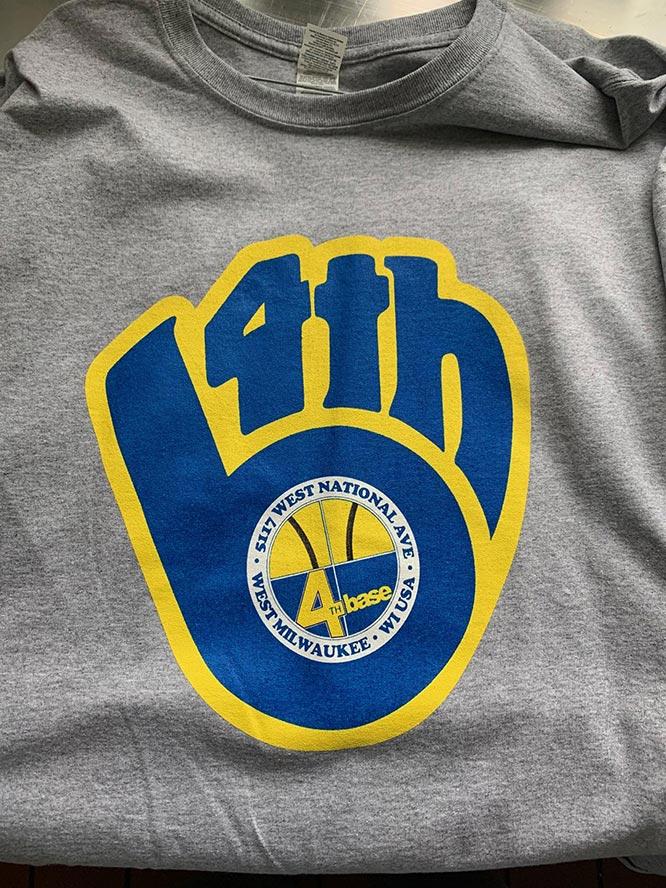 """""""Glove"""" Logo T- Shirt"""