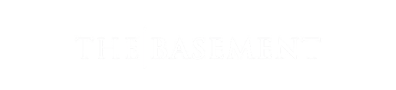The Basement logo top