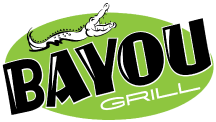 Bayou Grill logo scroll