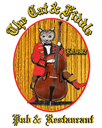 The Cat and Fiddle Restaurant & Pub logo top
