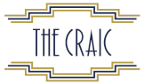 The Craic logo scroll