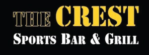 The Crest Sports Bar & Grill logo top