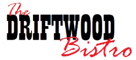 The Driftwood Bistro logo scroll