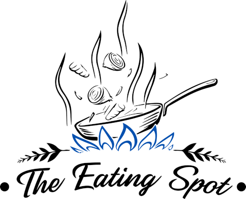 The Eating Spot logo scroll