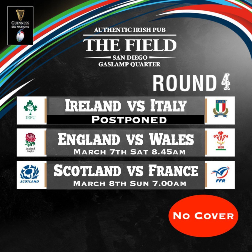 Guinness six nations round 4 flyer