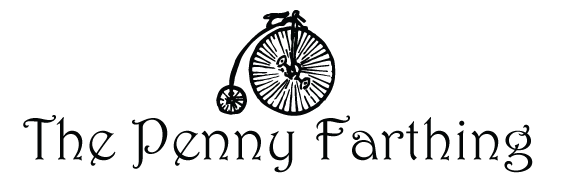 The Penny Farthing logo