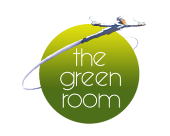 Green Room logo top