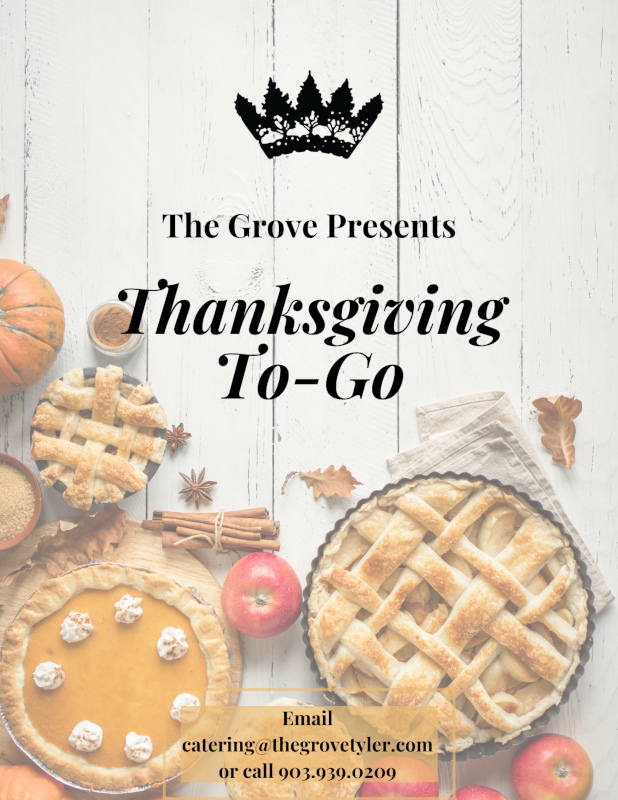 Thanksgiving to go flyer
