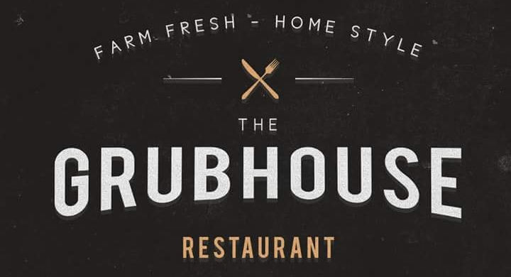 Grubhouse logo scroll