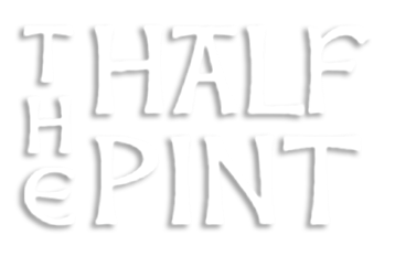 the half pint cover logo